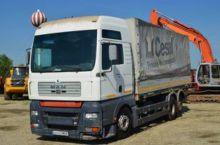 2001 MAN TGA 410 A tilt truck