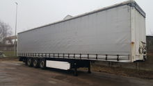 2012 KRONE SD tilt semi-trailer