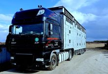 2011 DAF XF05E tractor unit + l