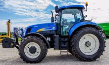 2011 HOLLAND T 7070 wheel tract