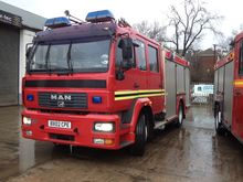 Used 2002 MAN fire t