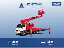 2017 HYUNDAI HD-78 bucket truck