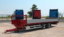 1998 MEUSBURGER flatbed trailer