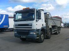 2010 DAF CF 85.410 dump truck b
