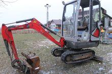 2008 NEUSON 1404 mini digger