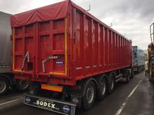 2015 BODEX KIS 3W tipper semi-t