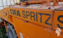 CIFA CSS-2 concrete pump