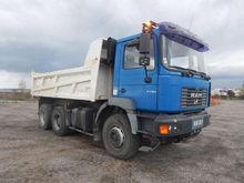 2001 MAN T48P dump truck
