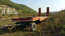 1982 BERTOJA flatbed trailer