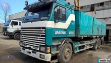 1991 SCANIA 143 flatbed truck f