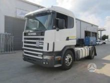 1998 SCANIA 144/460, semi-trail