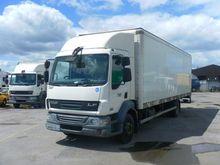 DAF LF 55.180 closed box truck