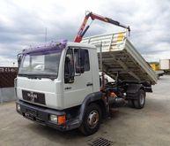 2000 MAN 9.174 dump truck