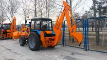AMCODOR 702EA-01 backhoe loader