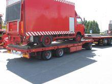 1992 TIEDE low loader trailer