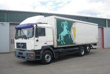1999 MAN closed box truck