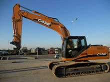 2008 CASE CX 210 B tracked exca