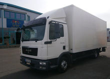 2009 MAN 8.220, box trucks / bo