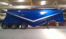 2016 grain truck semi-trailer