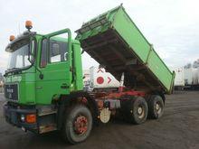 1988 MAN 24.362 dump truck