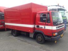 1989 DAF 800 Bakwagen full stee