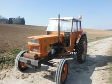 1973 SOMECA 750 wheel tractor