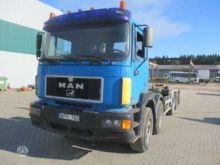 1999 MAN 42.403, hooklift truck