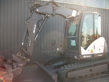 2014 MECALAC 10MCR tracked exca