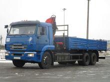 2012 KAMAZ 65117 flatbed truck