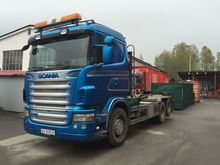 2007 SCANIA R480 6x2 hook lift