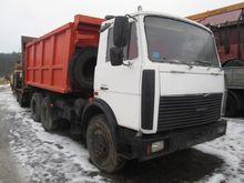 2008 MAZ 551605 271 dump truck