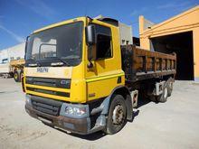 2004 DAF CF75.250 tilt truck