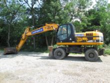 2009 JCB JS 200W wheel excavato