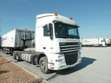 2010 DAF XF105 510 chassis truc