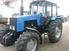 2016 MTZ 1221 wheel tractor