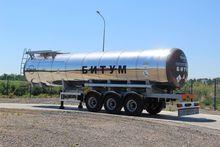 2016 BONUM bitumen tank trailer