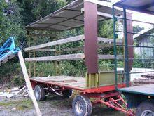 Plattformwagen mit D flatbed tr