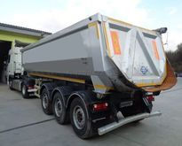 2015 BODEX KIS 3B tipper semi-t