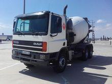 2000 DAF FAT 75 CF 320 concrete