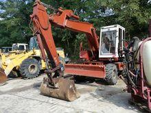 1986 CASE 888 wheel excavator