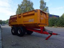 MIEDEMA HST 150 tipper trailer