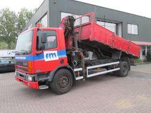 1998 DAF FA75.290 dump truck