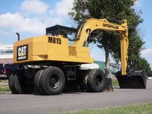 1989 Catterpillar M815 graafmac