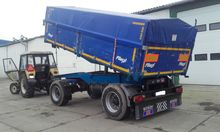 2002 FLIEGL tipper trailer