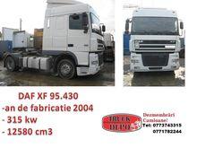 2004 DAF XF 95 430 tractor unit