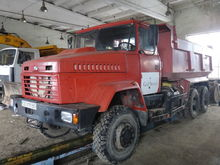 2007 KRAZ 65032 dump truck