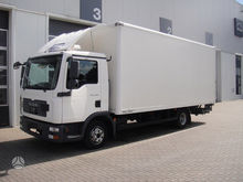 2011 MAN TGL 8.180, box trucks