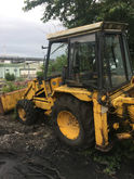 JCB 3 turbo backhoe loader