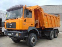 2000 MAN 40.414 dump truck