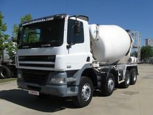 2007 DAF 85.380 concrete mixer